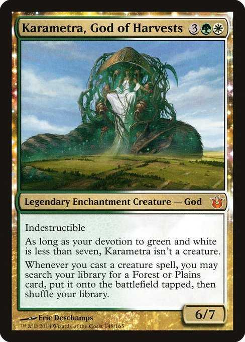 Card image for Karametra, God of Harvests