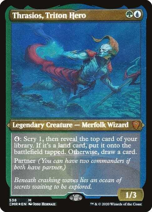 Card image for Thrasios, Triton Hero