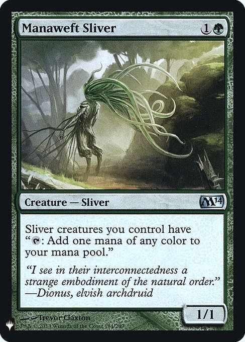 Card image for Manaweft Sliver