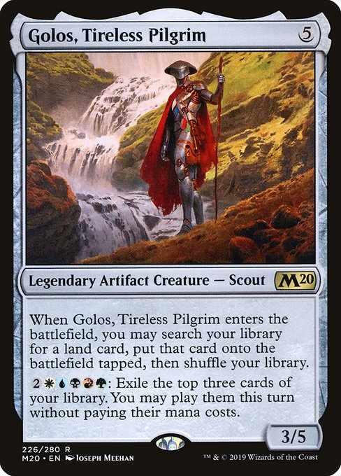 Card image for Golos, Tireless Pilgrim