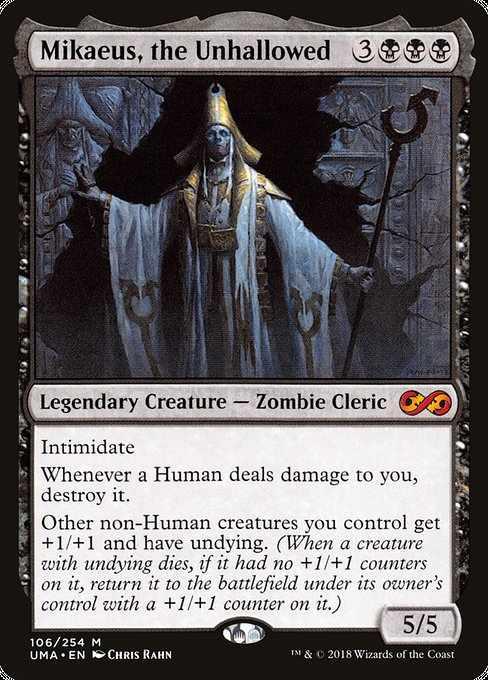 Card image for Mikaeus, the Unhallowed