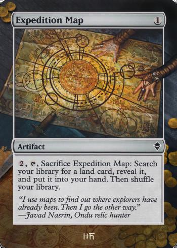 Expedition Map alter by DamarideNeurommancer
