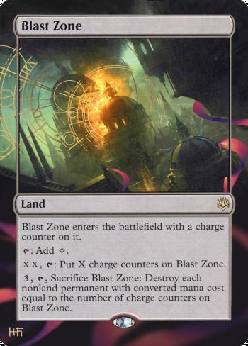Blast Zone alter by DamarideNeurommancer