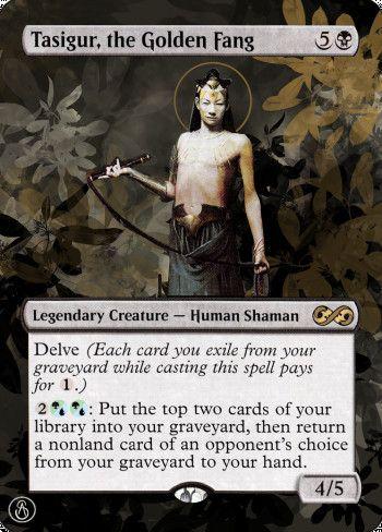 Image for Tasigur, the Golden Fang
