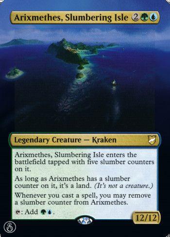 Image for Arixmethes, Slumbering Isle