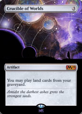 Crucible of Worlds alter by DamarideNeurommancer