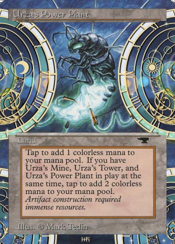 Urza's Power Plant alter by DamarideNeurommancer