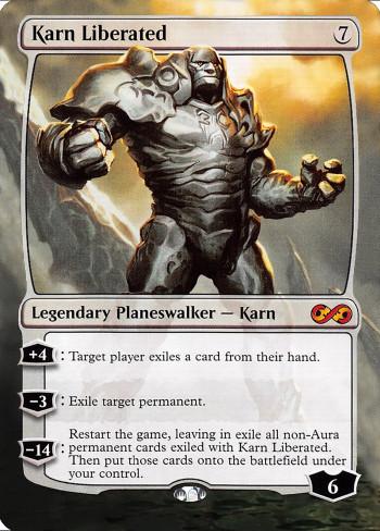 Karn Liberated alter by DamarideNeurommancer