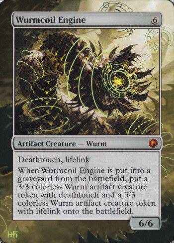 Wurmcoil Engine alter by DamarideNeurommancer