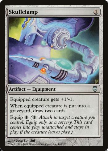 The original card image for Skullclamp