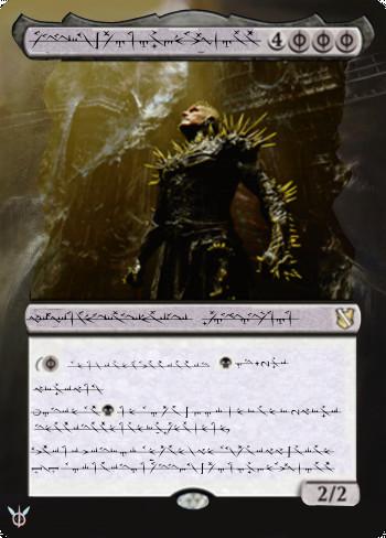 K'rrik, Son of Yawgmoth alter by Neferentium