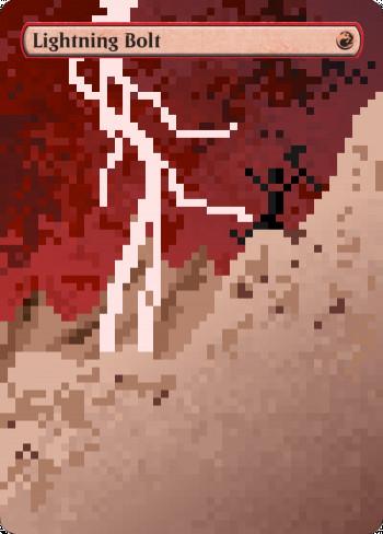 Lightning Bolt alter by Targa Alters