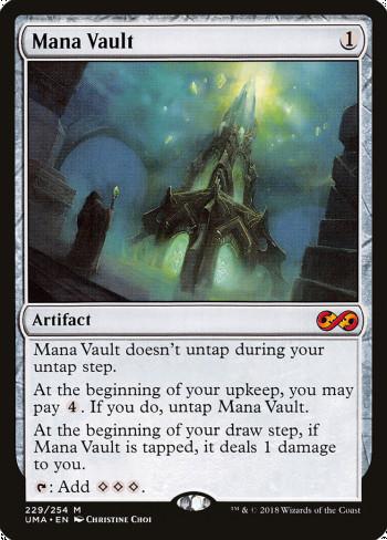 The original card image for Mana Vault