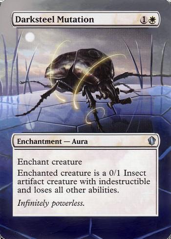 Darksteel Mutation alter by Targa Alters