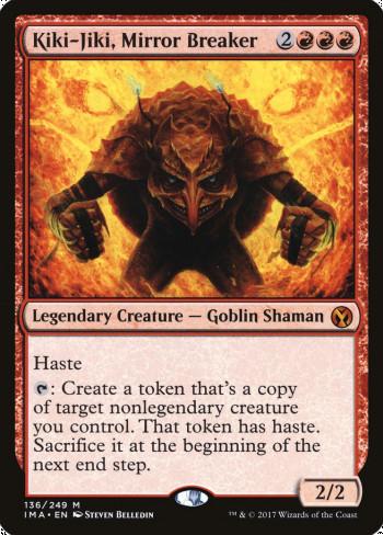 The original card image for Kiki-Jiki, Mirror Breaker