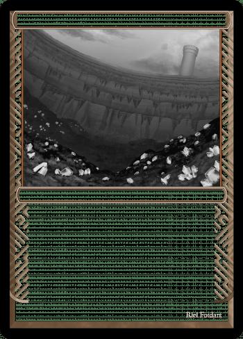 Urza's Mine alter by Riel Foidart