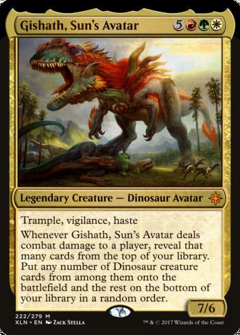 Image for Gishath, Sun's Avatar
