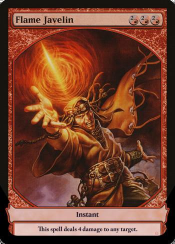 Image for Flame Javelin
