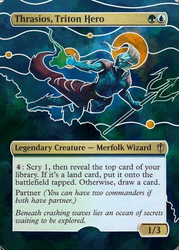 Image for Thrasios, Triton Hero