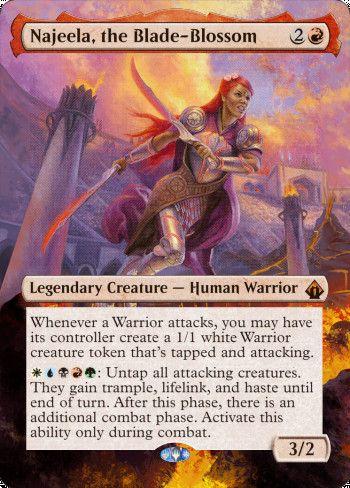 Image for Najeela, the Blade-Blossom