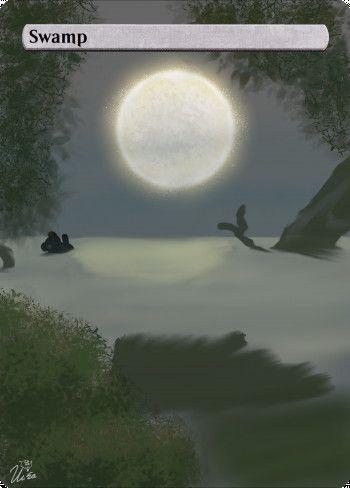 Alter for Swamp by Ursa, Bearwalker