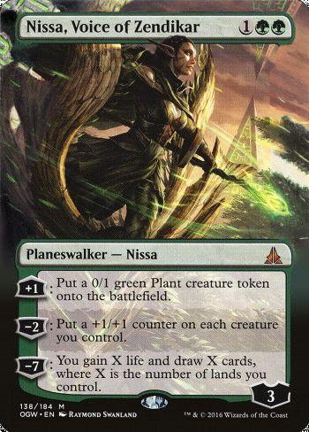 Image for Nissa, Voice of Zendikar