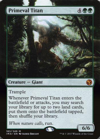 Image for Primeval Titan