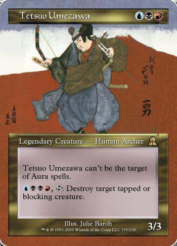 Tetsuo Umezawa alter by White Crow Archon