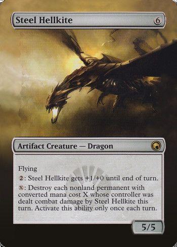 Steel Hellkite alter by White Crow Archon